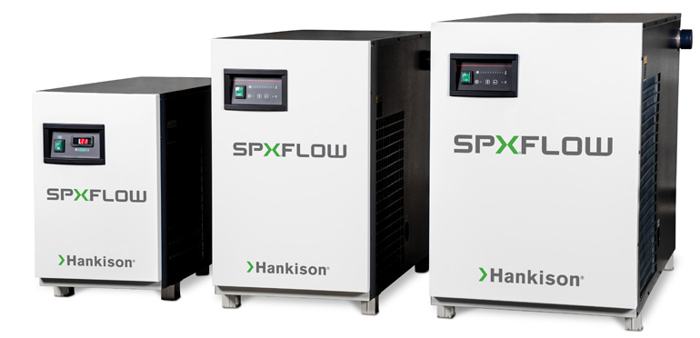 Hankison refrigerated compressed air dryers